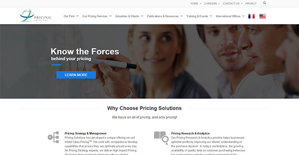 Pricing Solutions 2015