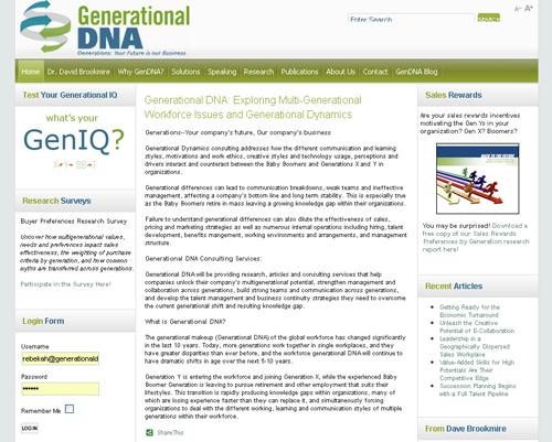 Generational DNA