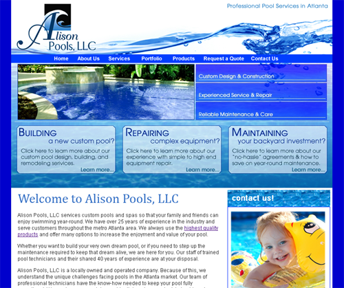 Alison Pools, Inc.