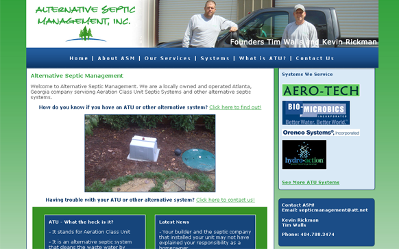 Alternative Septic Management