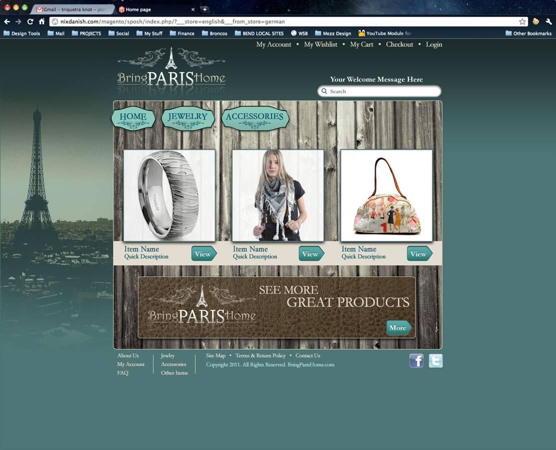 Bring Paris Home Design