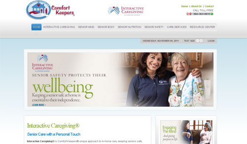 Interactive Caregiving