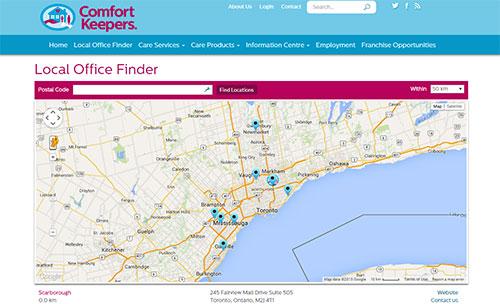 Customized Office Locator