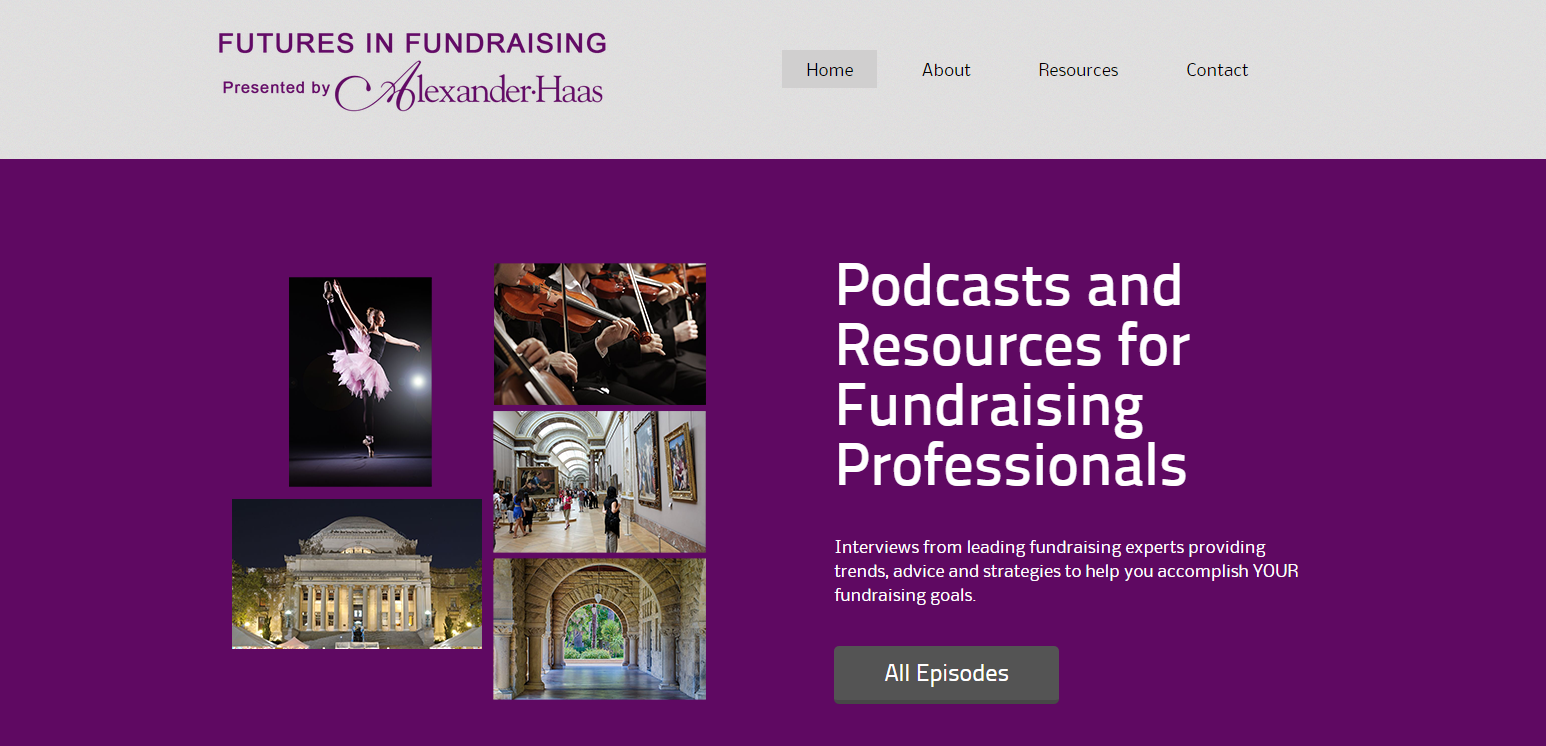 Futures in Fundraising (Podcast Blog)
